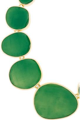 Kenneth Jay Lane 18-karat gold-plated necklace