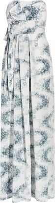 Vanessa Bruno Printed silk crepe de chine maxi dress
