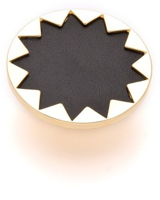 House Of Harlow Sunburst Cocktail Ring