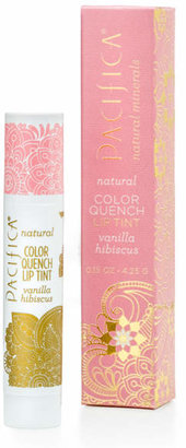 Pacifica Vanilla Hibiscus Color Quench by 0.15oz Lip Balm)