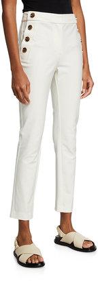 Derek Lam 10 Crosby Kelis Straight-Leg Sailor Pants