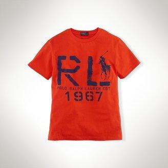 Short-Sleeved RL Tee
