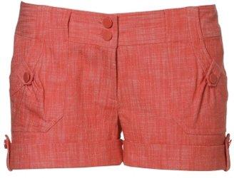 Charlotte Russe Pork Chop Pocket Shorts