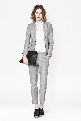 French Connection Fleck Linen Blazer Jacket