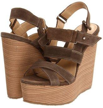 Type Z Michael Wedge (Taupe Suede) - Footwear