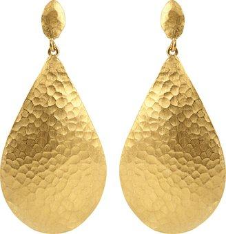 Yossi Harari Large Melissa Pear Drop Earrings