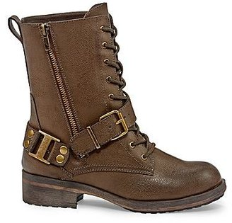 Mia girl Trooper Lace-Up Boots