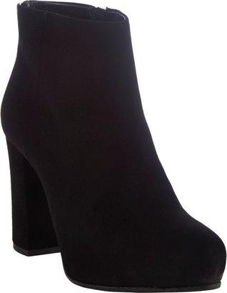 Prada Women's Hidden-Platform Ankle Boots-Black