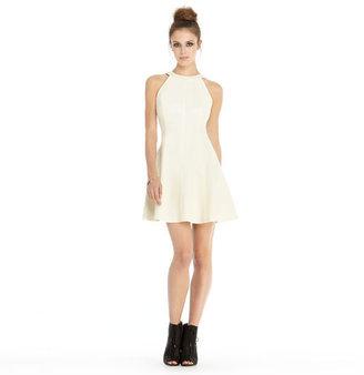 Rachel Roy Faux Leather Dress