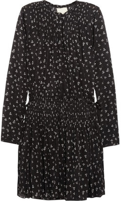 Band Of Outsiders Floral-print cotton-voile dress