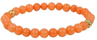 Lori's Shoes Stretch Bead Bracelet with Crystal Balls