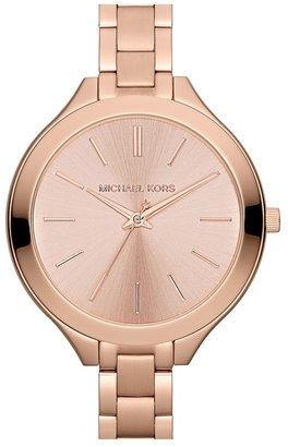 MICHAEL Michael Kors Michael Kors 'Slim Runway' Thin Bracelet Watch, 42mm