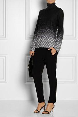 Missoni Split-back wool turtleneck sweater