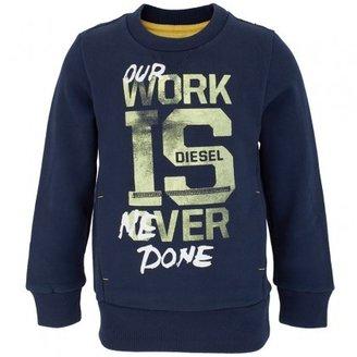Diesel Our Work is Never Done Sweatshirt