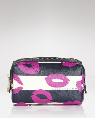 Marc by Marc Jacobs Cosmetics Case - Stripey Lips