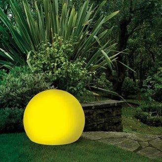 Litecraft Yellow CFL 45cm Illuminated Decorative Ball Light