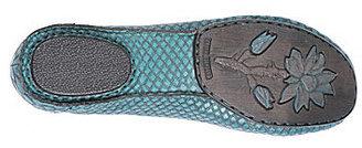 Born Crown Stowaway II Snake-Print Flats