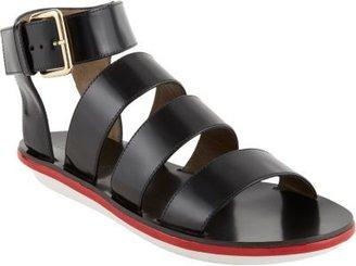 Marni Multi-Band Ankle-Strap Gladiator Sandals