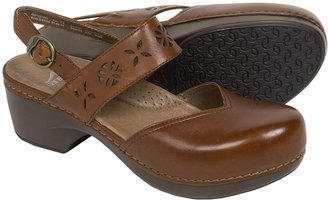 Dansko Trista Closed-Back Clogs - Leather (For Women) $69.99 thestylecure.com