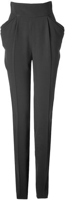 Ungaro High-Waisted Pants in Black