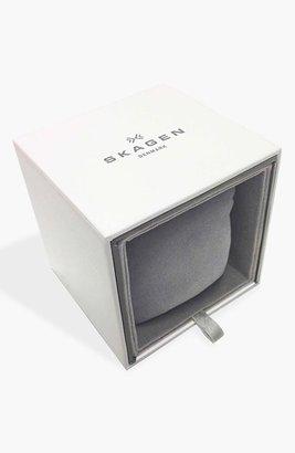 Skagen 'Freja' Mirror Bezel Mesh Strap Watch, 26mm