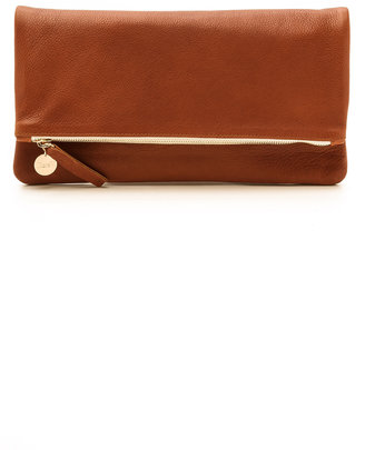 Clare V. Fold Over Clutch $195 thestylecure.com