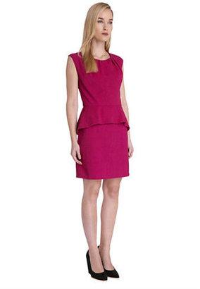 Catherine Malandrino CATHERINE Cap Sleeve Peplum Dress