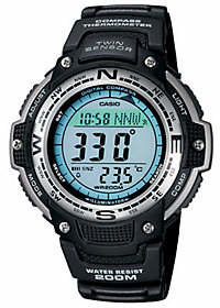 Casio Men's Digital Compass Twin Sensor Resin B