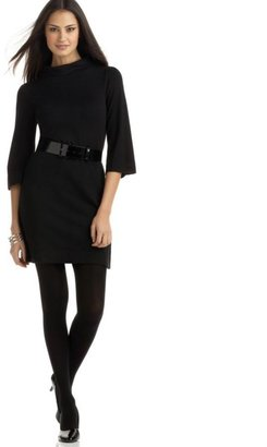 Alfani Funnel-Neck Sweater Dress