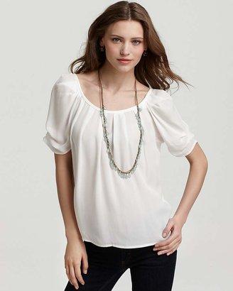 Joie Top - Eleanor Matte Silk $198 thestylecure.com
