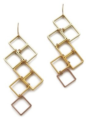 Gemma Redux Squares Earrings