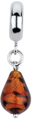 Murano Prerogatives Sunset Italian Dangle GlassBead