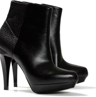 Stella McCartney Woven elastic platform ankle boot