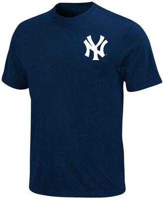 Majestic new york yankees official wordmark tee - boys 8-20