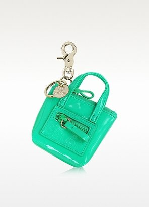 See by Chloe Patent Tote Key Fob