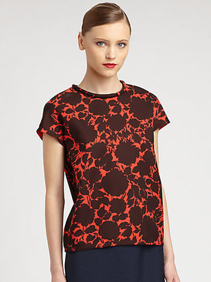 Marc by Marc Jacobs Clarice Floral Top