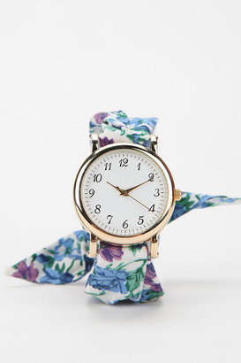 Urban Outfitters Floral Wrap Watch