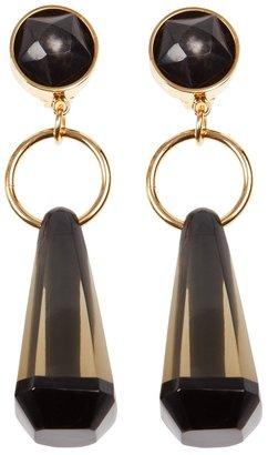 Marni sculpted teardrop earrings