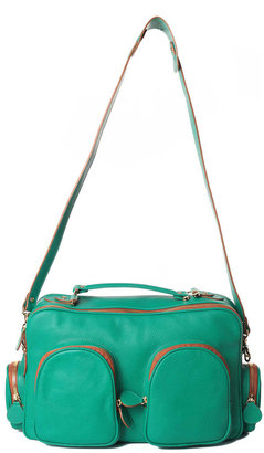 MySuelly My Suelly Leather Shoulder Bag