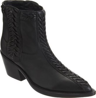 Haider Ackermann Woven Western-Style Ankle Boot