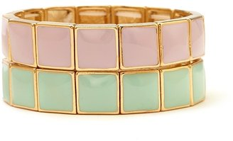 Forever 21 Sleek Lacquered Bracelet Set