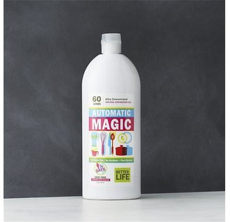 Crate & Barrel Better LifeTM Automatic MagicTM Ultra-Concentrated Natural Dishwasher Gel