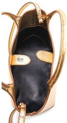 Rochas Borsa Leather Satchel