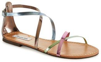 Aeropostale Strappy Metallic Sandal
