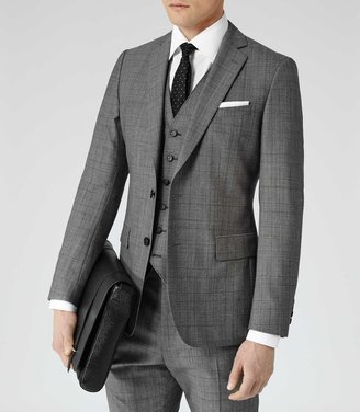 Reiss Hector TWO-PIECE CHECK SUIT