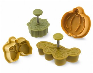 Williams-Sonoma Fall Harvest Piecrust Cutters, Set of 4