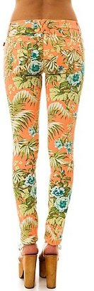 Tripp NYC The Neon Tropical Floral Pant