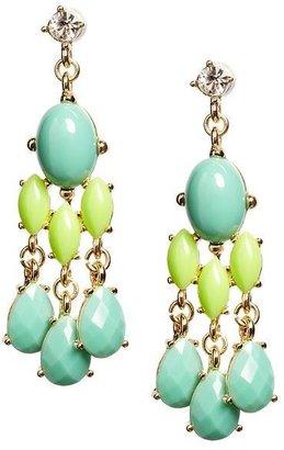 Banana Republic Island chandelier earring