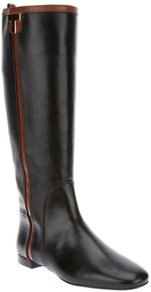 Tory Burch leather knee length boots