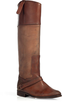 Golden Goose The Charlye Chestnut Vintage Leather Boots